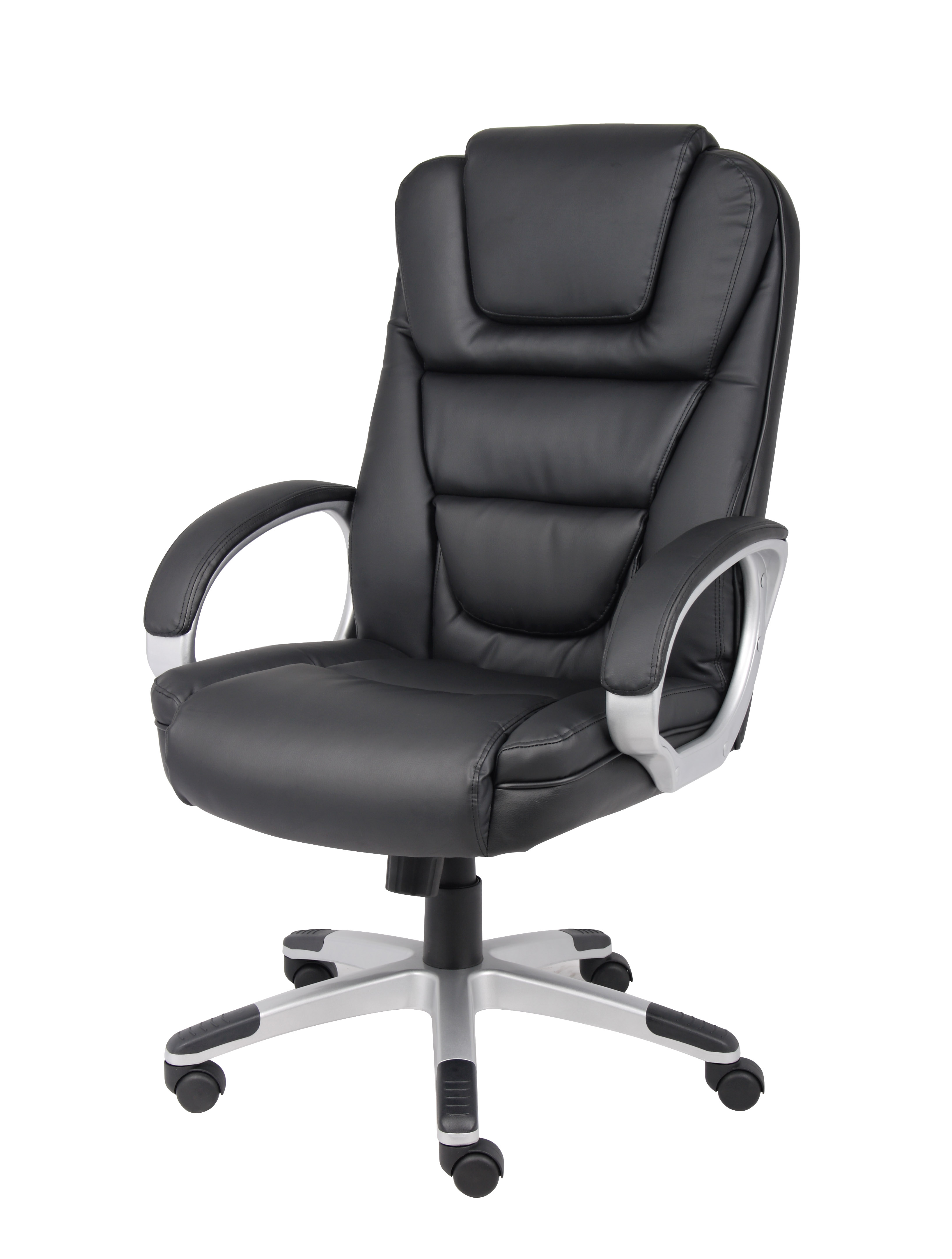 boss ntr executive leatherplus chair lane leather office  bosschair
