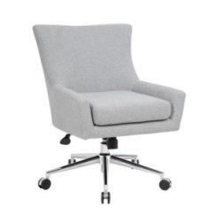 Desk Chair Piston Design Textile Bosschair A Norstar Company Boss Linen Accent Granite