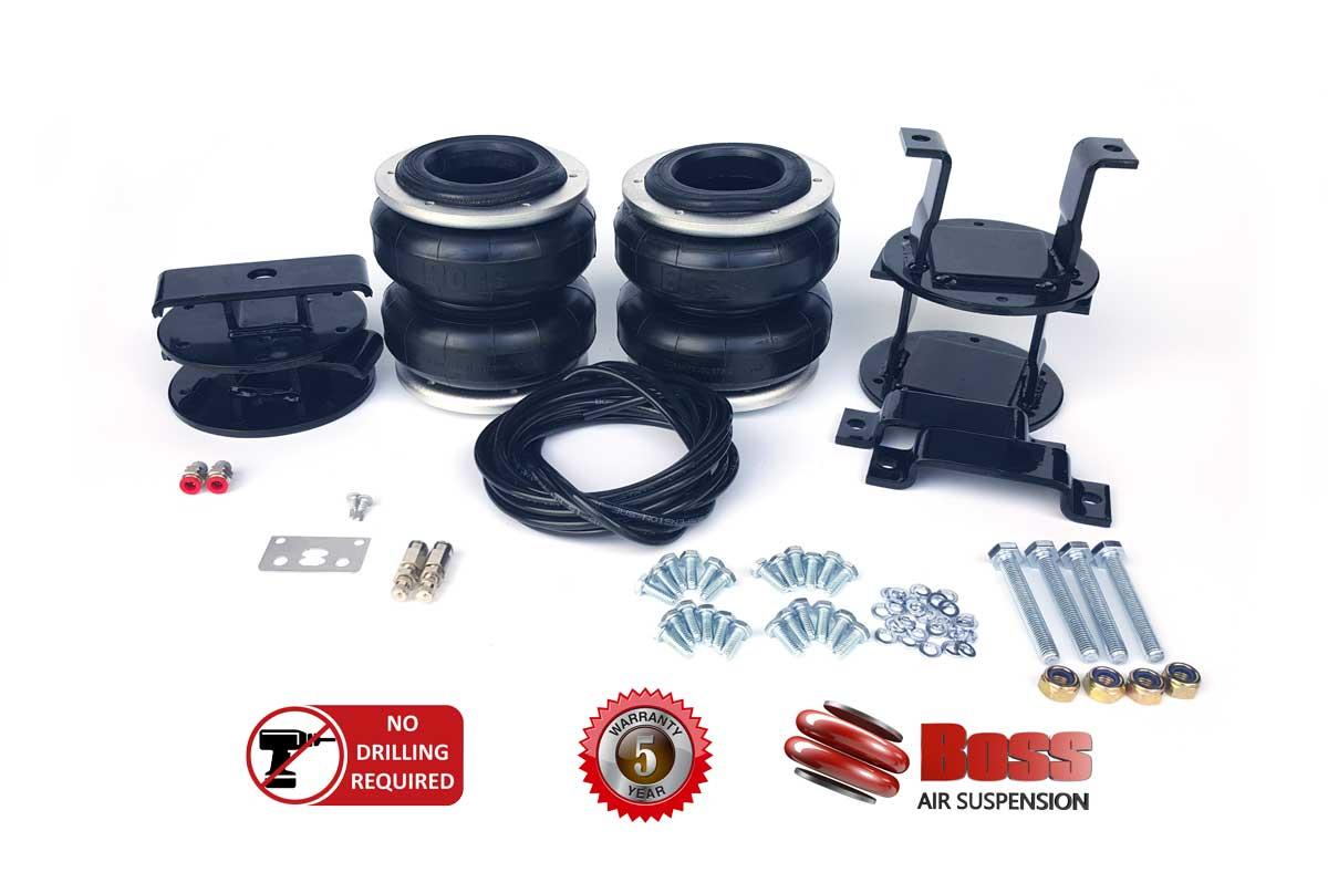 Isuzu Dmax 2012 Plus Airbag Suspension | Boss Air Suspension Shop