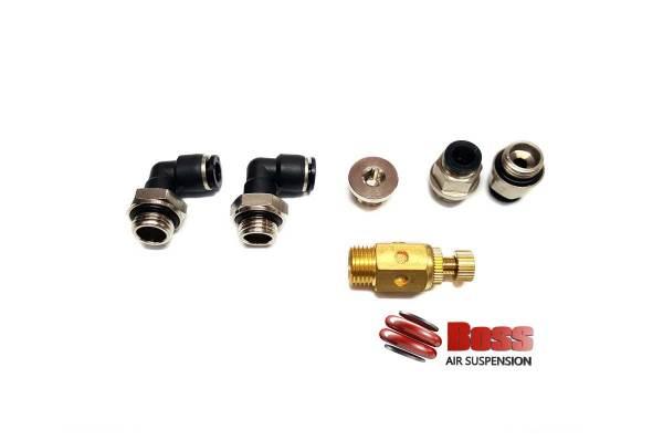 Air valve fitting kit