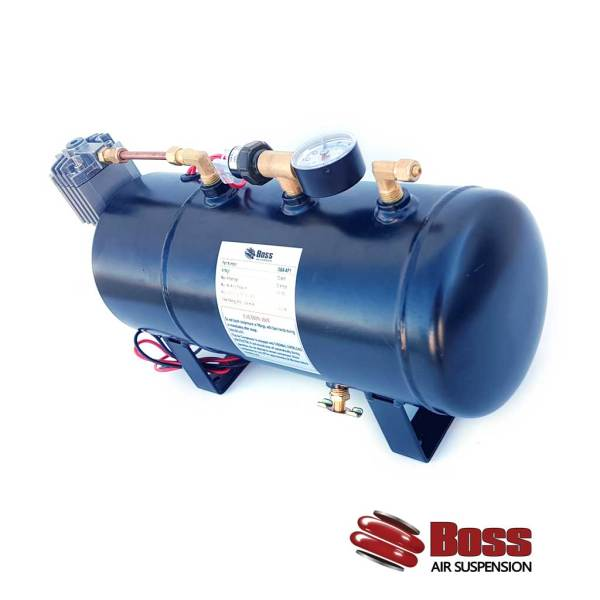 Compressor mounted into Air Reciever