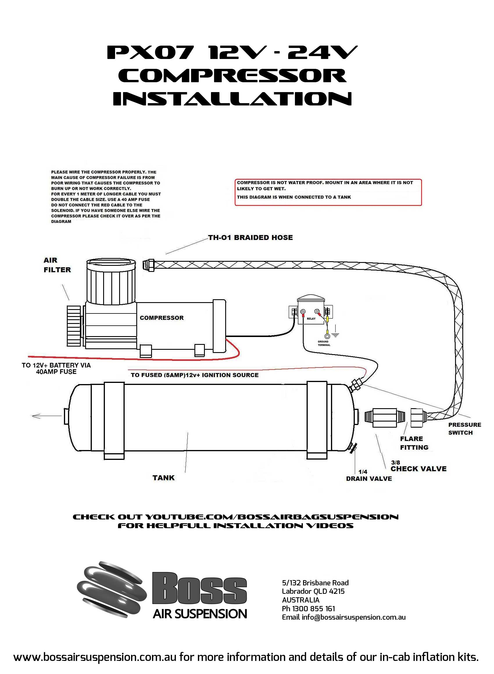viair wiring diagram australian house compressors - boss air suspension