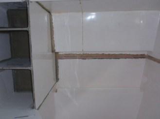 Main bathroom ready for fairing