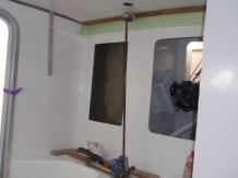 Main bathroom ceiling
