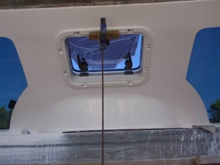 Front cabin hatch