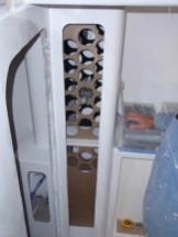 Wine rack ... finished!