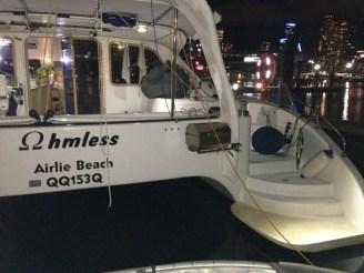 Ohmless at Docklands Marina