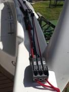 Main-sail fittings