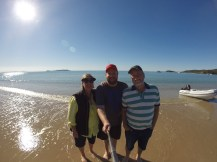 Family photo at Great Keppel Island