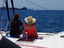 Andree & Steve on board