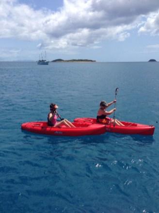 Kayaking has been great