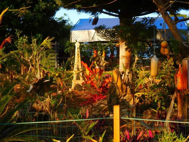 A GKI garden ... for my French tragic family members!