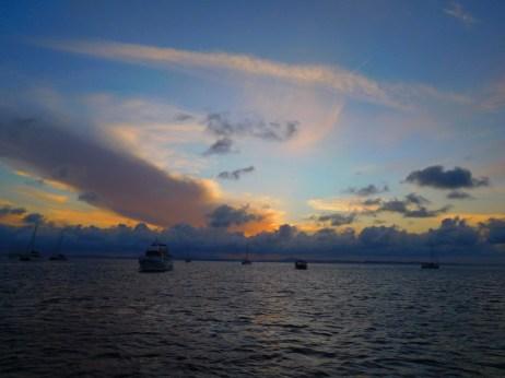 Sunset from Fisherman's Beach, GKI.
