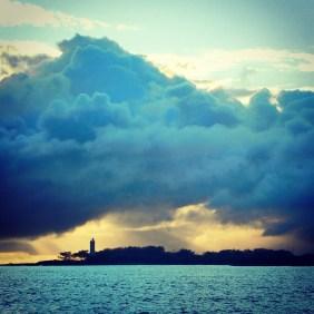Daybreak. Bundaberg lighthouse.