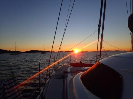 Stunning sunsets using my new underwater camera!