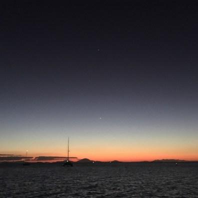 Venus, Mercury & Jupiter. How good is that!