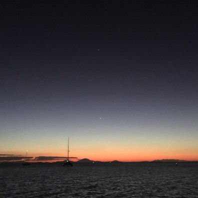Venus, Mercury & Jupiter. How good is that!