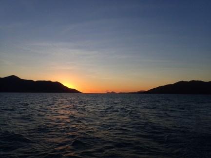 Sunrise over Gloucester Island