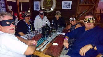 The party was held at The Galley, Boatworks and inc dinner.