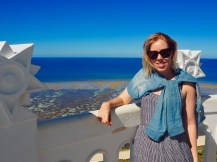 On top of the Amedee lighthouse. Amazing view!