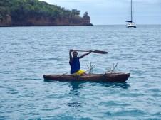 Arriving at Port Resolution on the island of Tanna, Vanuatu