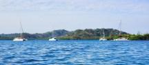 Cruising Kitty, Easy Tiger, Sans Souci & The Bossa at Aiwa island. Pretty spot.
