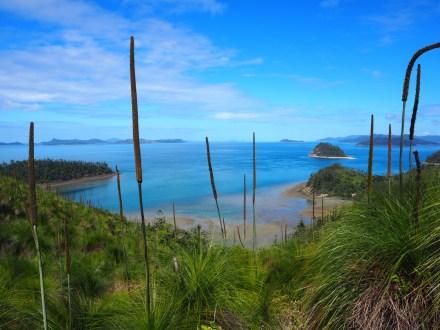 Looking back to Hamilton Island across Whitsunday Passage.