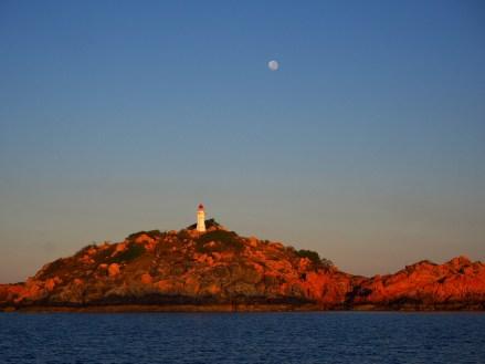 Sunrise at the Bowen Lighthouse.