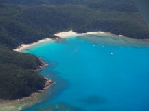Turtle Bay, a northerly Anchorage with two lovely beaches.