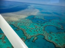 The outer reef from above ... awesome!