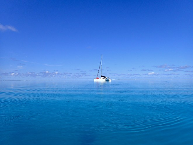 How calm is this?? Fitzroy Reef