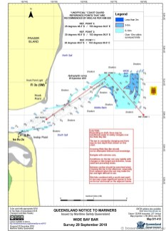 The Coastguard chart which is sent by text along with last/long waypoints.