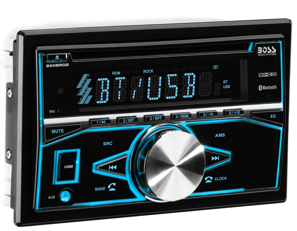 medium resolution of boss audio 850brgb double din cd mp3 player bluetooth ebay rh ebay com boss subwoofer wiring diagram boss stereo wiring diagram