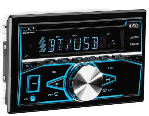 small resolution of boss audio 850brgb double din cd mp3 player bluetooth ebay rh ebay com boss subwoofer wiring diagram boss stereo wiring diagram