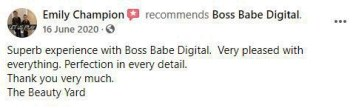 Facebook Review for Bossbabe Digital
