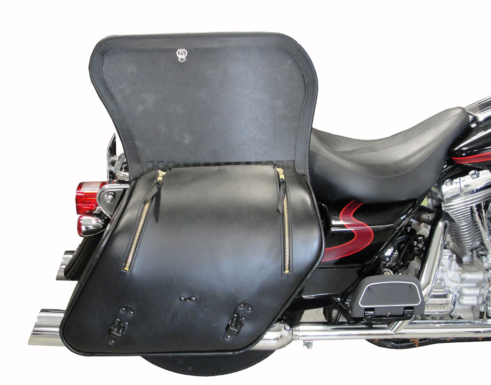 motorcycle saddlebags electraglide Road King FLT FLH