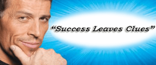 Success Leaves Clues Blueprint by Tony Robbins