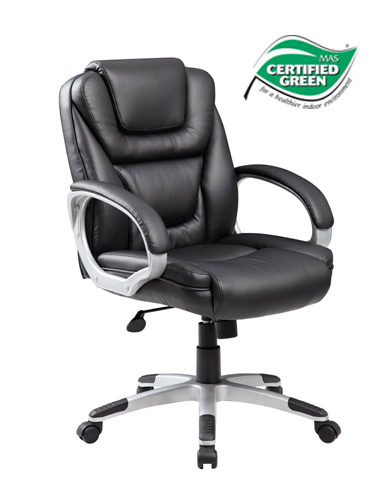 boss ntr executive leatherplus chair barrel slipcover b8606-bk chairs