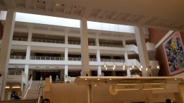 As I mentioned, the Library was much more modern than we thought. The layout was quite confusing.