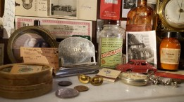 More items inside the Museum of Innocence at Somerset House.