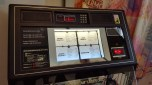 A Juke Box with anti governement/war/poverty songs etc at the Utopia/Socialism Ehxibition at Somerset House.