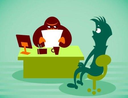 Страх соискателя на интервью
