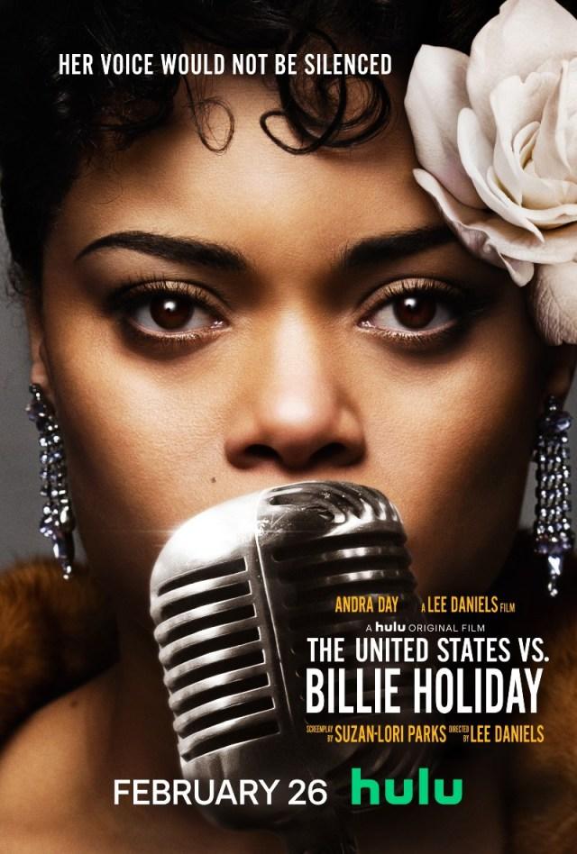 The United States vs. Billie Holiday Key Art