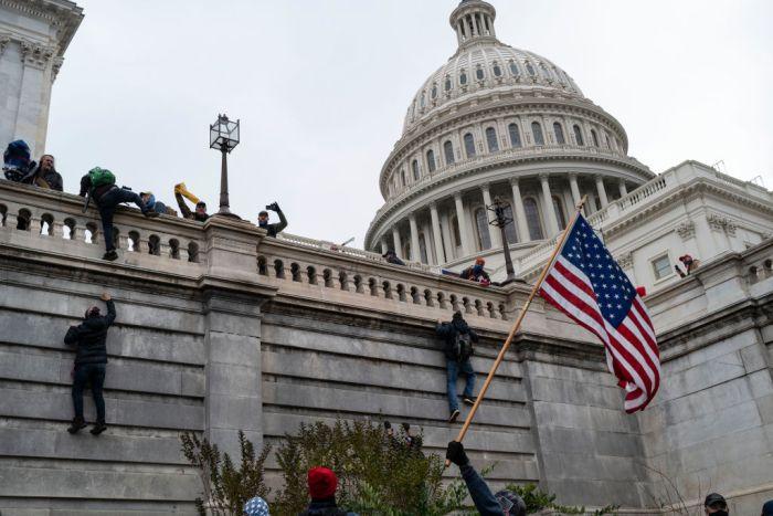 Trump mob storms US Capitol