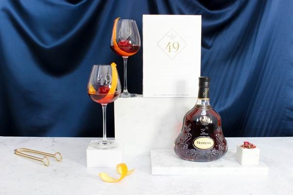 Hennessy X.O 49 Commemorative Cocktail Set