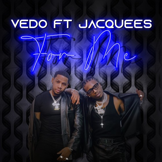 Vedo x Jacquees 'For Me' assets