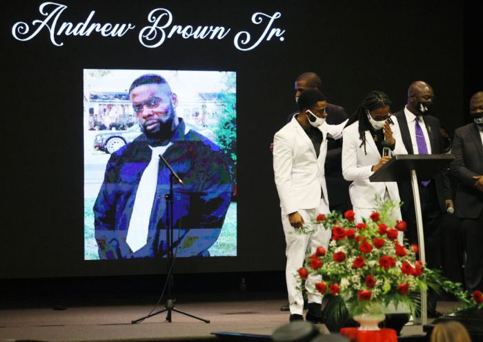 Viewing And Funeral Held For Victim Of Police Killing, Andrew Brown Jr., In North Carolina