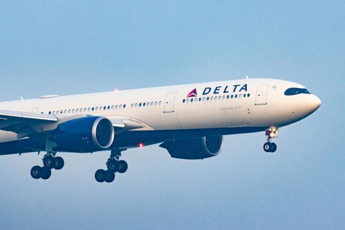 Delta Air Lines Airbus A330neo Landing