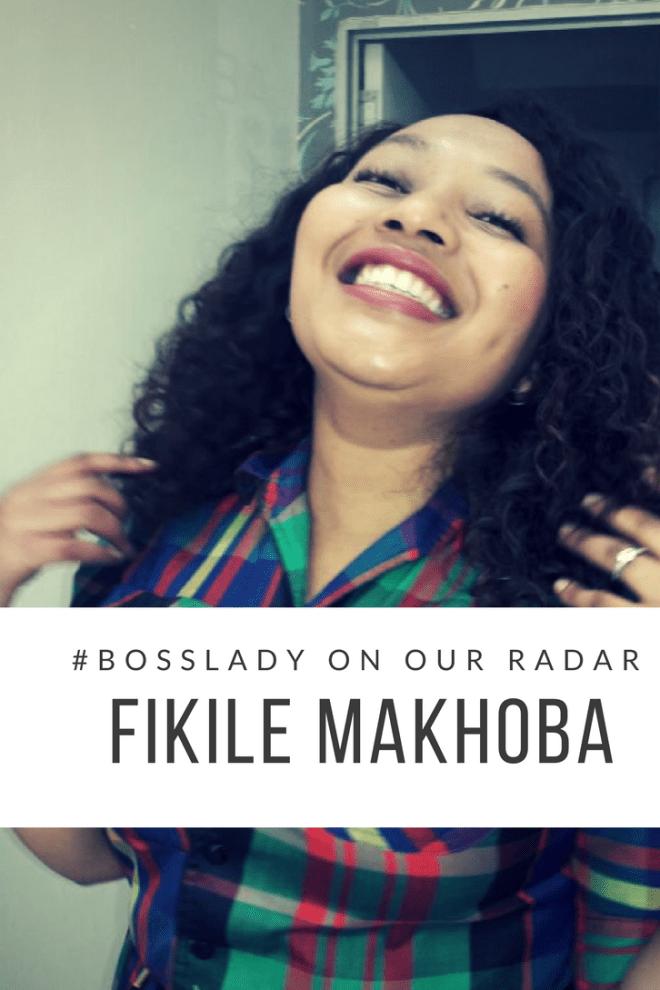 Fikile Makhoba, young black female optometrist