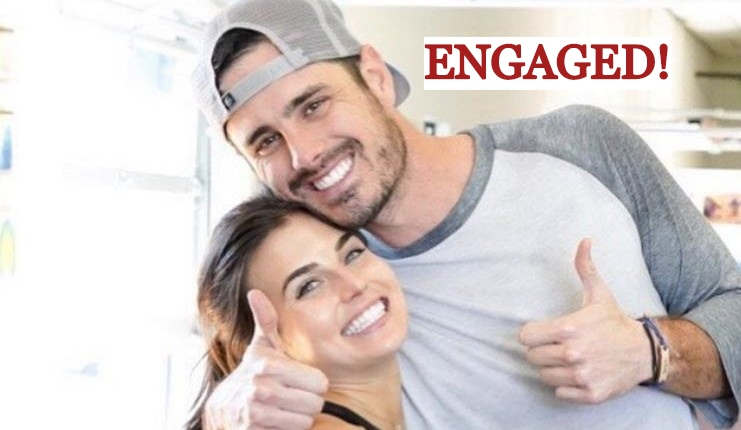 BEN HIGGINS ENGAGED